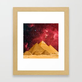The Great Pyramids Framed Art Print