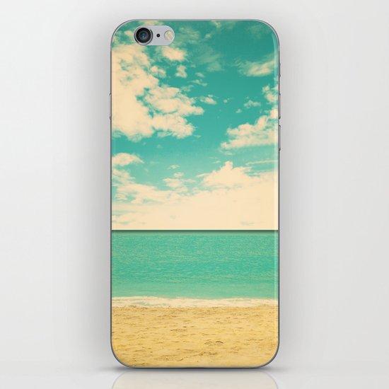 Retro Beach iPhone & iPod Skin