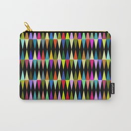 Harlequin loves multicolored rhombus Carry-All Pouch