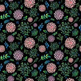 Notebook - FLORAL PATTERN 3 - Magic Dreams