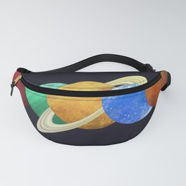The Planets Fanny Pack