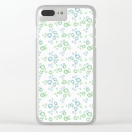 Rhinestones.1 Clear iPhone Case