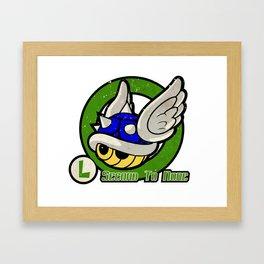 Luigi's Driver Training Framed Art Print