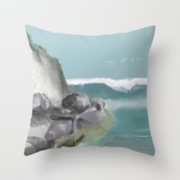 Adventures On A Sunday Afternoon Throw Pillow