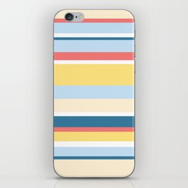 Rushcutters Bay Stripe iPhone Skin