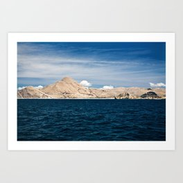 Flores by Boat Art Print