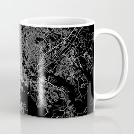Baltimore map Maryland Coffee Mug