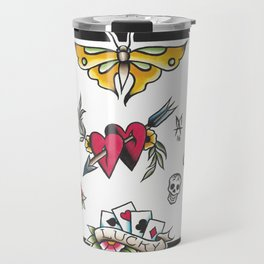 trad sheet Travel Mug