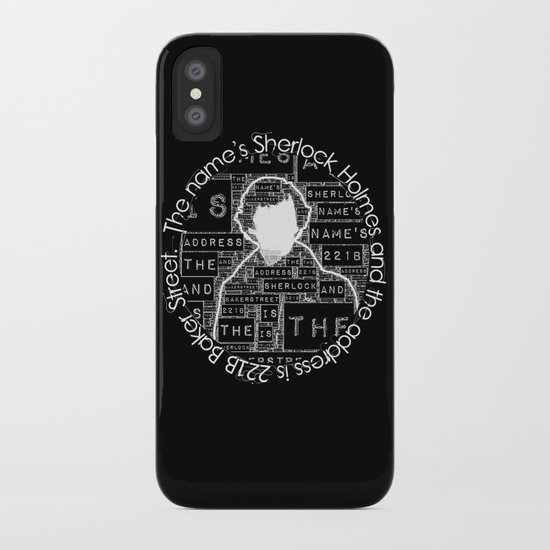 Sherlock BBC: Type iPhone Case