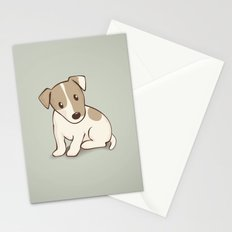 Jack Russell Terrier Dog Illustration Stationery Cards