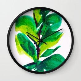 PLANT NO.009 Wall Clock