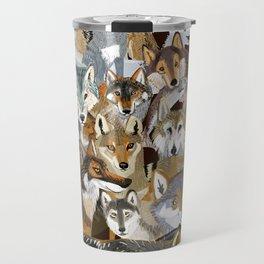 Wolves o´clock ( Time to Wolf ) Travel Mug