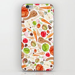 Fruit and Vegetables  iPhone Skin