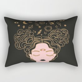 space buns Rectangular Pillow