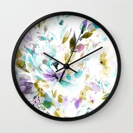 In Bloom Wall Clock