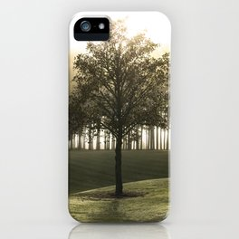 Heavenly tree iPhone Case