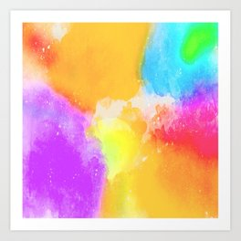 Color Brust Art Print