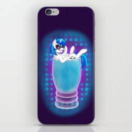 Drink Ponies: Vinyl Scratch iPhone Skin