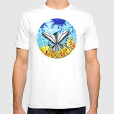Freedom From Your Chaos 2 Mens Fitted Tee White MEDIUM