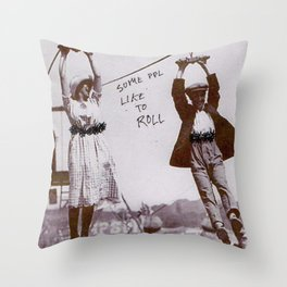 Let's have a party. Throw Pillow