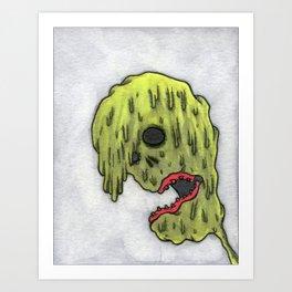 Emo Mutant Art Print
