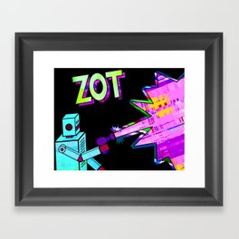 zot Framed Art Print