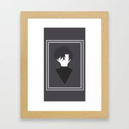 Minimalist Han Jumin Framed Art Print