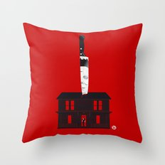 Halloween (Red Collection) Throw Pillow