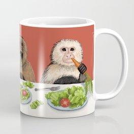 Dieting Monkeys Coffee Mug