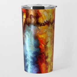 modern composition 05 by rafi talby Travel Mug
