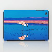 flamingo iPad Cases featuring Flamingo by EclipseLio