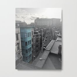 Boston Roof Top Metal Print
