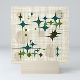 Starbursts and Globes 1 Mini Art Print
