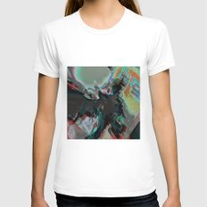Maenad Womens Fitted Tee White SMALL