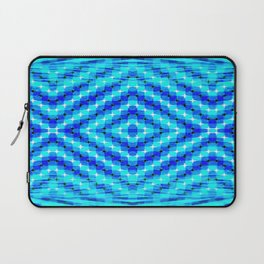 FLUX #6  Optical Illusion Vibrant Colorful Psychedelic Trippy Design Laptop Sleeve