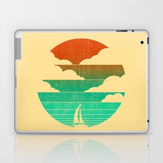 Go West (sail away in my boat) Laptop & iPad Skin