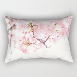 spring in Japan #society6 #decor #buyart Rectangular Pillow