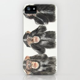 Hear No Evil, See No Evil, Speak No Evil iPhone Case