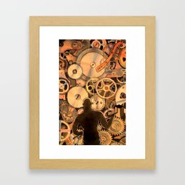 Steel Drivin' Man Framed Art Print