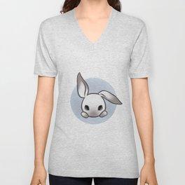 Cute Bunny Unisex V-Neck