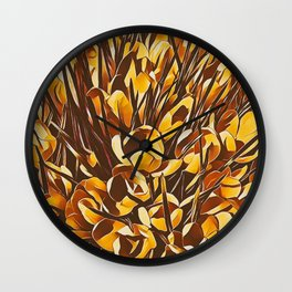 Garden II Wall Clock