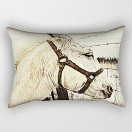 Country Horse  Rectangular Pillow
