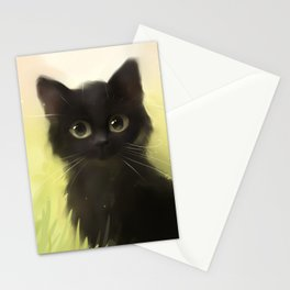Savage Cat Stationery Cards