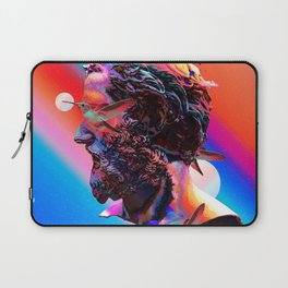 Gradient Statue Laptop Sleeve