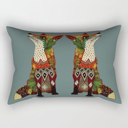 fox love Rectangular Pillow
