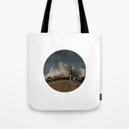 Dark Swell Tote Bag