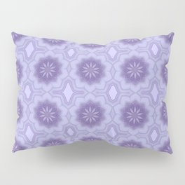 Pretty Floral Pattern in Lavender Pillow Sham