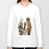 lakers Long Sleeve T-shirts featuring lego magic by tbdaniel15