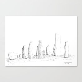 Callanish Canvas Print