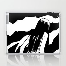 Nude ascending cliff Laptop & iPad Skin